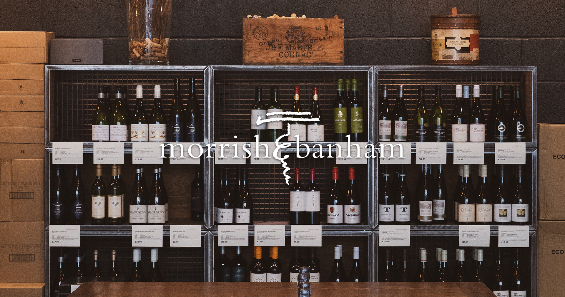 Morrish & Banham Wine Merchant and Tasting Room